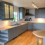 Lackering av köksluckor i lantlig stil | Västkust Lackering