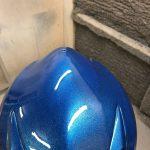 Lackering av hjälm i blå nyans | Västkust Lackering